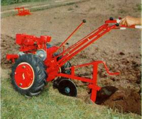 model VB with plow