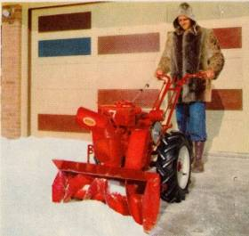 model VB with snowblower