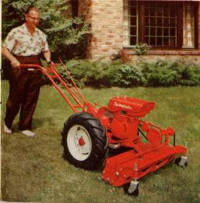 modelFC with reel mower