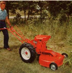 modelFC with rotary mower