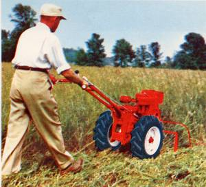model W sickle mower