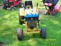 AC garden tractor