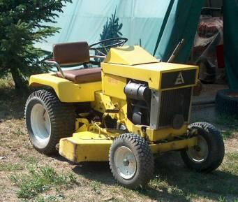 Simplicity Garden Tractor Simplicity Garden Tractor Simplicity Garden  Tractor. This A Allis Chalmers ...