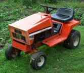 Simplicity garden tractor