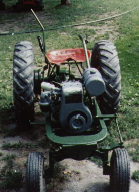pictures of garden tractors at shows