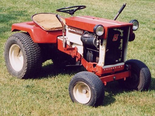 Old Simplicity Tractors Gallery