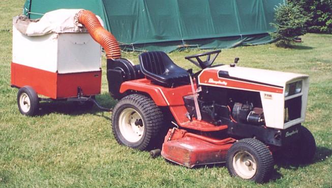 Pictures Of Garden Tractors