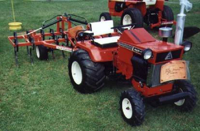 AC With Mower Allis Chalmers Simplicity