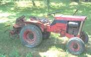 Simplicty garden tractor