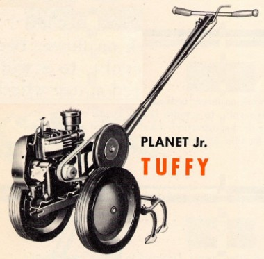 Tuffy tractor