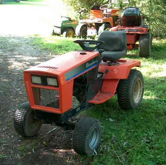 High Quality Simplicity Garden Tractor