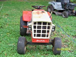 allis chalmers lawn tractor