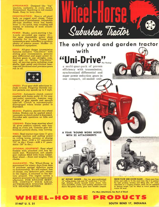 wheelhorse ad